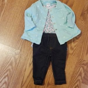 Baby Girls 3 Piece outfit